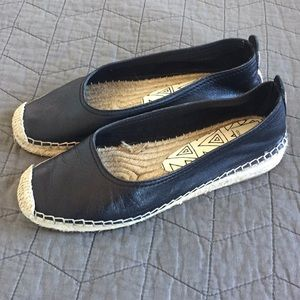 Dolce Vita 6.5 leather espadrille flats